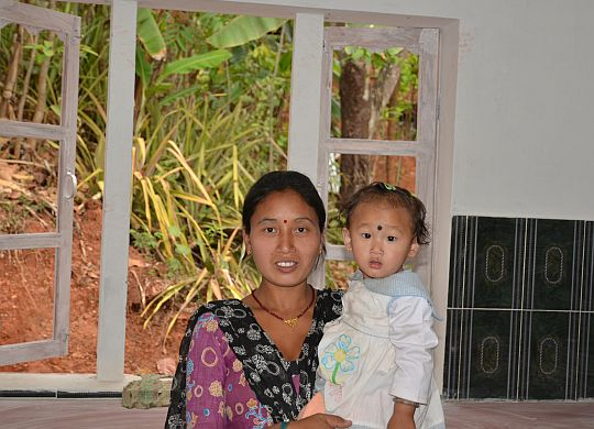 A prayer for Nepalese women