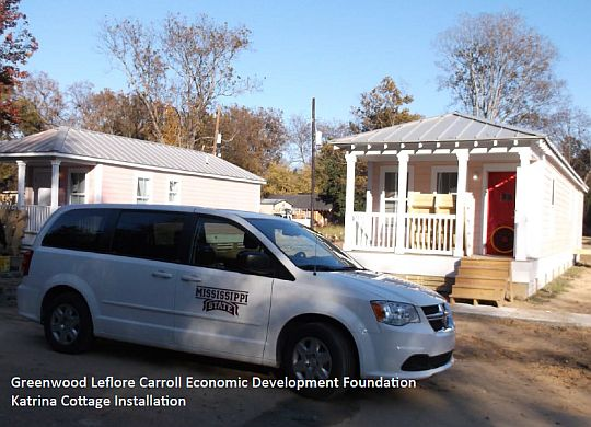 Energy-efficiency study leads to weatherization efforts in Baptist Town area of Greenwood, Miss.
