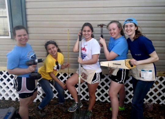 WCTV reports on Wittenberg students' spring break work in Tallahassee