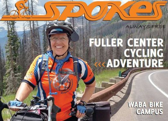 Fuller Center Bicycle Adventure featured in latest issue of Spokes magazine