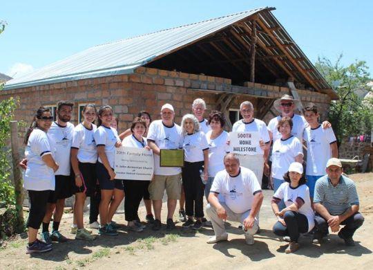 Fuller Center of Armenia reaches 500-home milestone