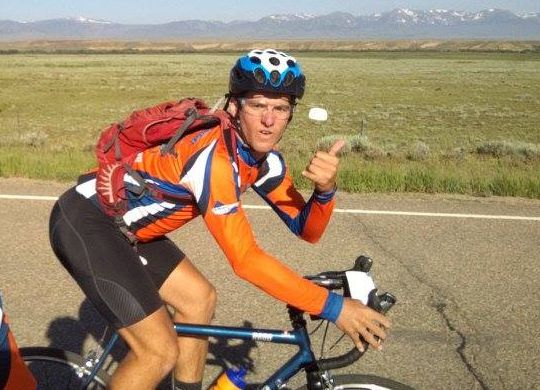 VIDEO: Bicycle Adventure's Connor Ciment — crossing into Maryland, closing in on D.C.
