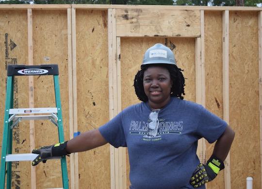 Long-time Fuller Center volunteer begins construction on her own home