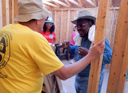 A chat with retired A.M.E. Bishop Preston Williams, 2016 Millard Fuller Legacy Build volunteer