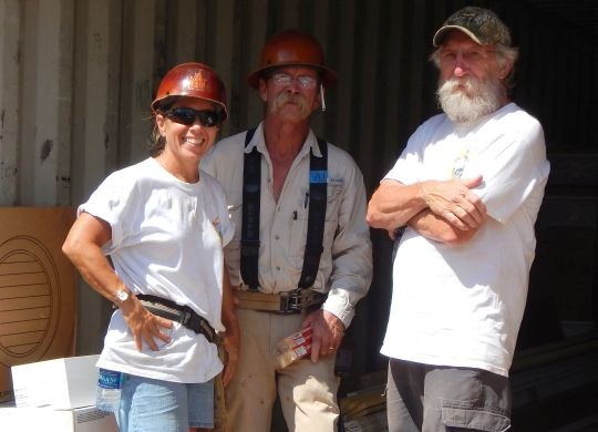 Several Legacy Build volunteers talk about their week of Christian service