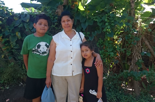 Fuller Center home encourages single mother to build a life in El Salvador