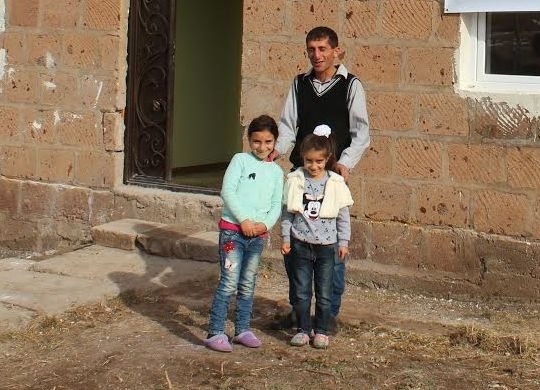 Three more Armenian families get decent homes thanks to support of VivaCell-MTS