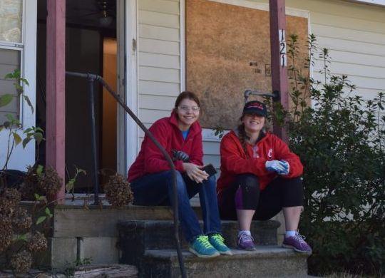 VIDEO & PHOTO GALLERY: University of Cincinnati rehabilitate homes in Americus