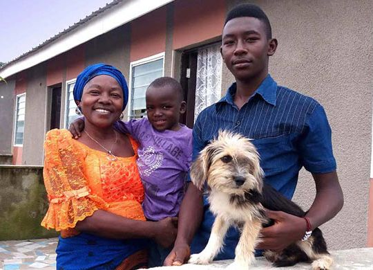 Nigerian homeowners featured in series of profiles from Luvu Village, near Abuja