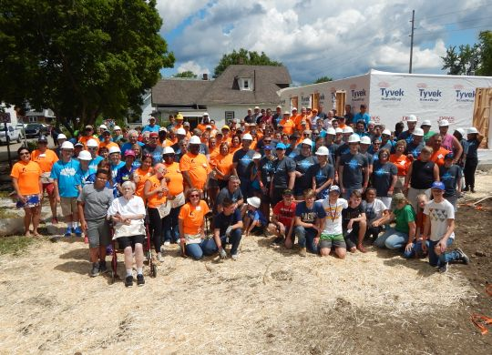Legacy Build Day 1: Build boosts optimism for new homeowners, neighbors in Indianapolis