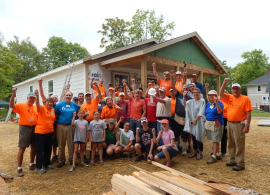 2017 Legacy Build Day 5: Heavy rain cuts final day short, but so much accomplished