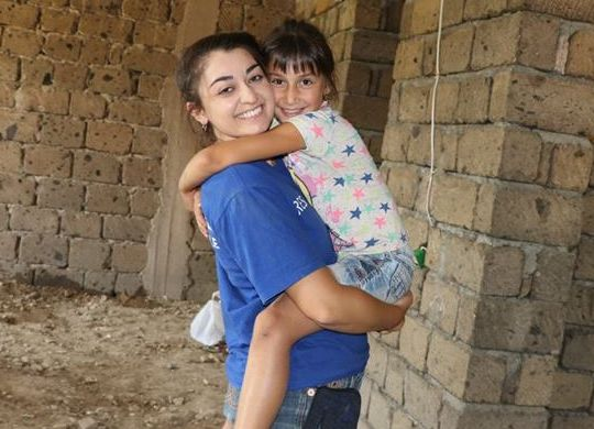 Fuller Center Armenia builds 600th home with help of Christian Youth Mission to Armenia