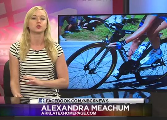 Latest TV, newspaper reports from the Fuller Center Bicycle Adventure