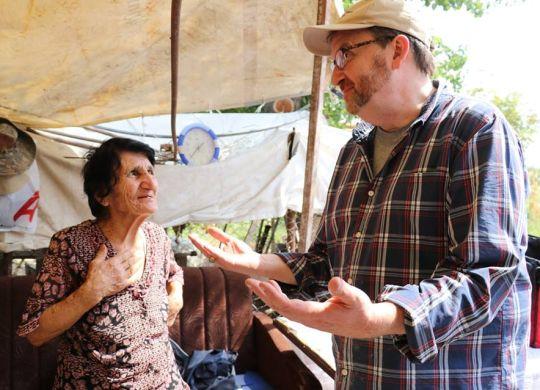 U.S. Ambassador to Armenia, Helping Hands group assist family building new home