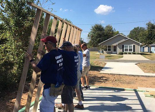 Fifth veteran's home going up in Shreveport's Stoner Hill neighborhood