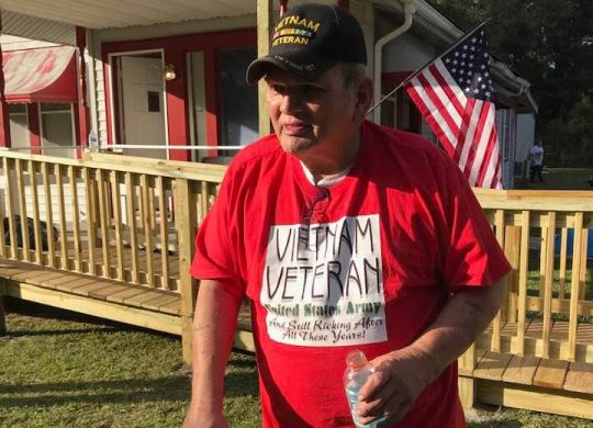 Groups help Fuller Center build ramps, make repairs for veterans in Louisiana