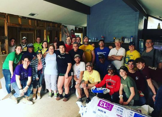 TV REPORT: Disaster ReBuilders, volunteers continue to provide hope 6 months after Harvey