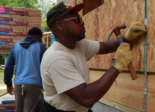 LEGACY BUILD 2018: Volunteers talk about why they've come to serve others this week