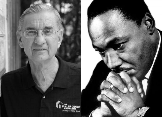 Dreams of Christian leaders Dr. King, Millard Fuller intersect in visible ways