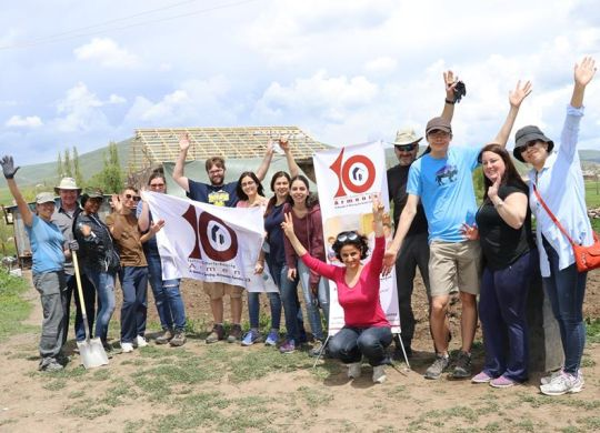 U.S. Embassy's Helping Hands in Armenia continue decade-long tradition