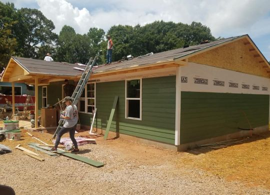 Red-hot build week has Chattahoochee Fuller Center Project nearly done with 40th new home