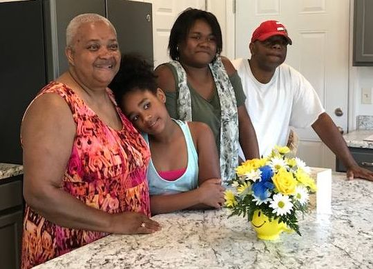 Grandmother raising two girls finally has home of her own Springfield, Ohio