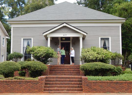 Millard Fuller's law office, first Habitat headquarters, donated to Fuller Center