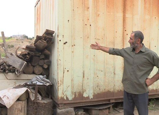 Armenian family to get new home after three decades in shipping container