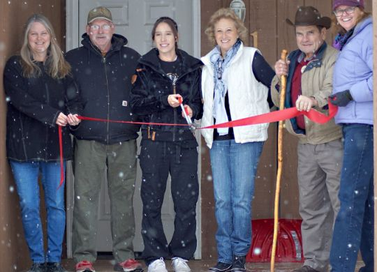 "New home for the holidays ""still feels like a dream"" in Craig, Colorado"