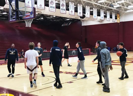 Working with Fuller Center in Chappaqua, New York, strengthens basketball team's bonds