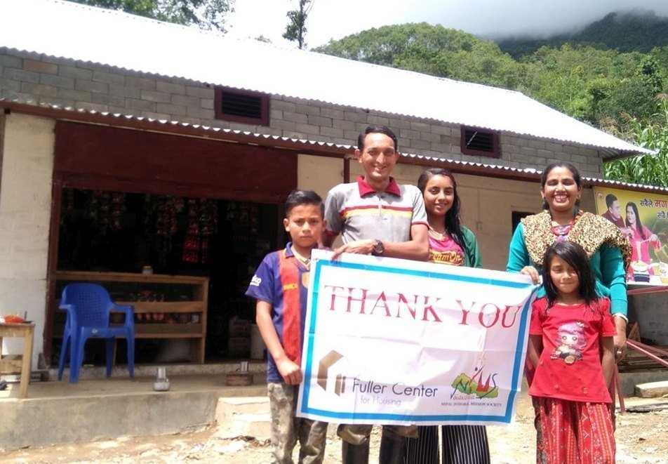 We saw many thankful families in Nepal