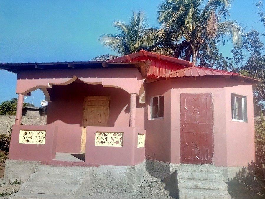 New home in Pignon, Haiti