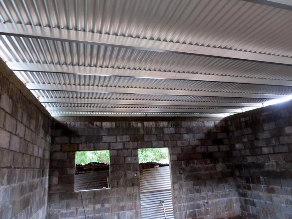 Sturdy metal roof