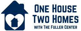 One House Two Homes logo solid