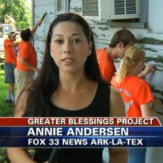 IN THE NEWS: TV report on Bicycle Adventure's build day in Shreveport