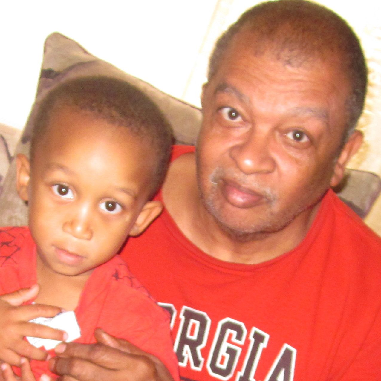 Disabled grandparents struggle to raise grandchildren in decent home