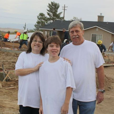 IN THE NEWS: Less than a week after grounbreaking, family moves into new home