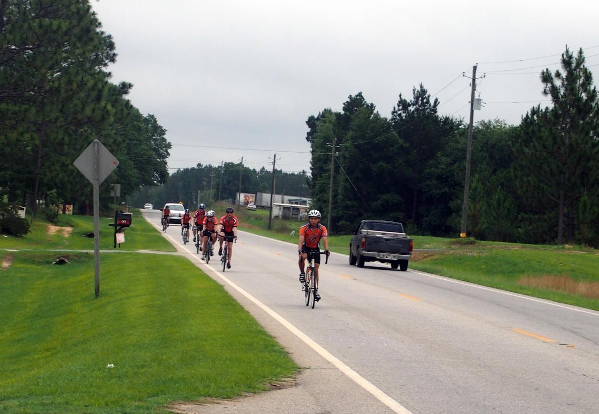 Day Three: Claxton to McRae, Georgia