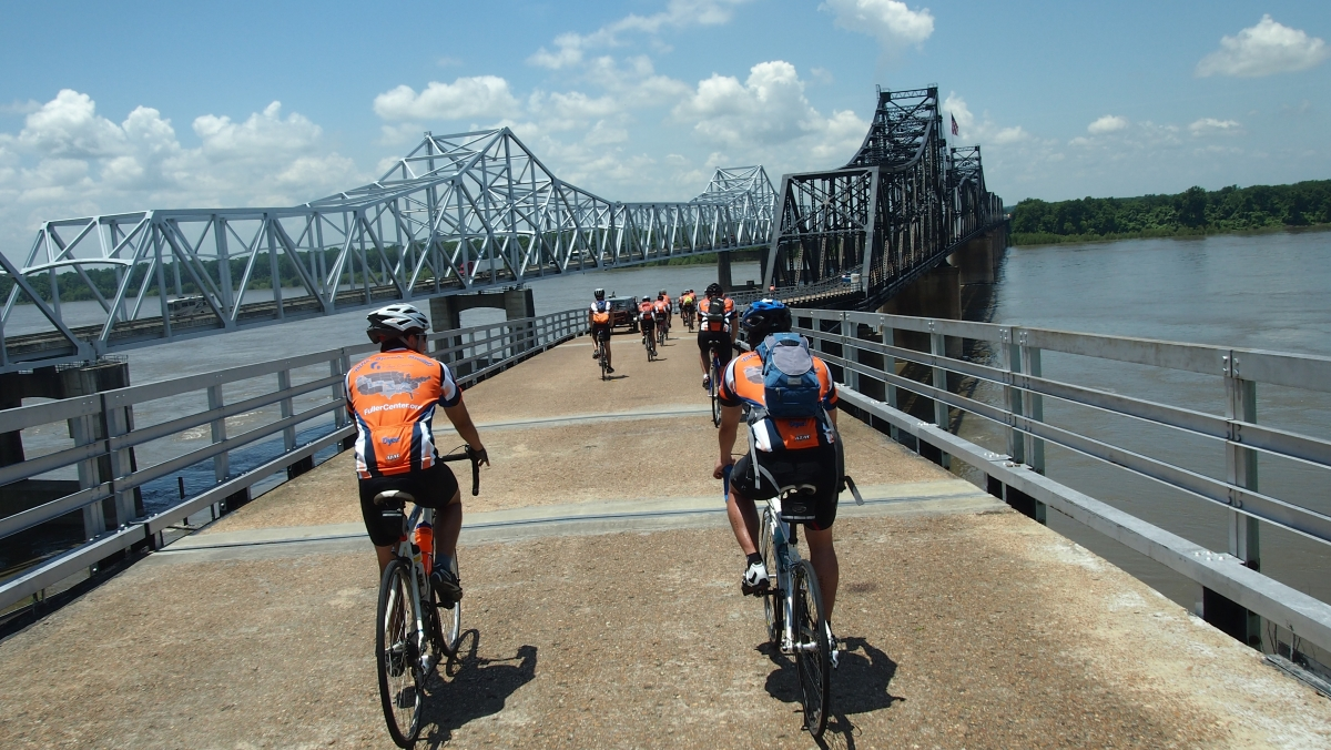 Day 12: Across the Mississippi river