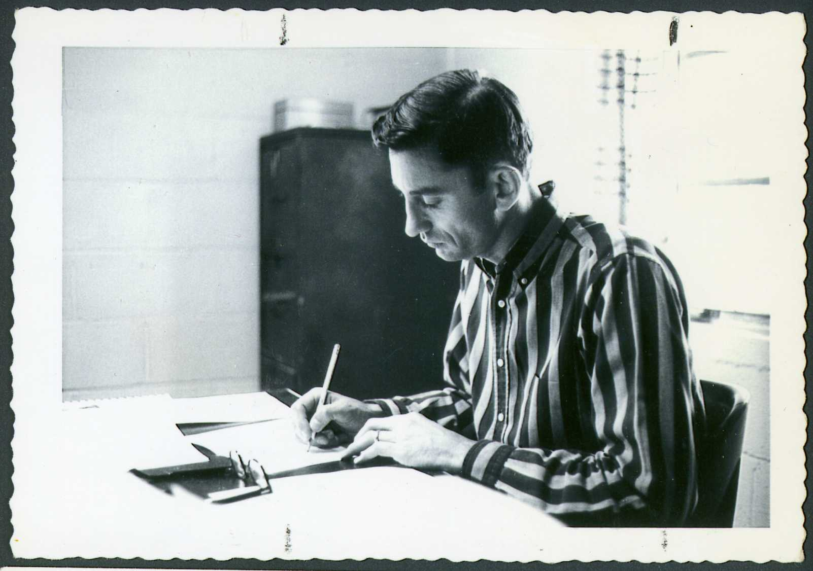 Millard Fuller at Koinonia in the 1970s
