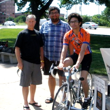Fuller Center cyclist rides all day, goes nowhere