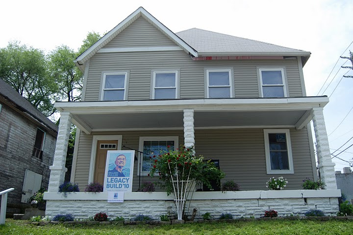 First Legacy Build Home Dedicated in Indianapolis