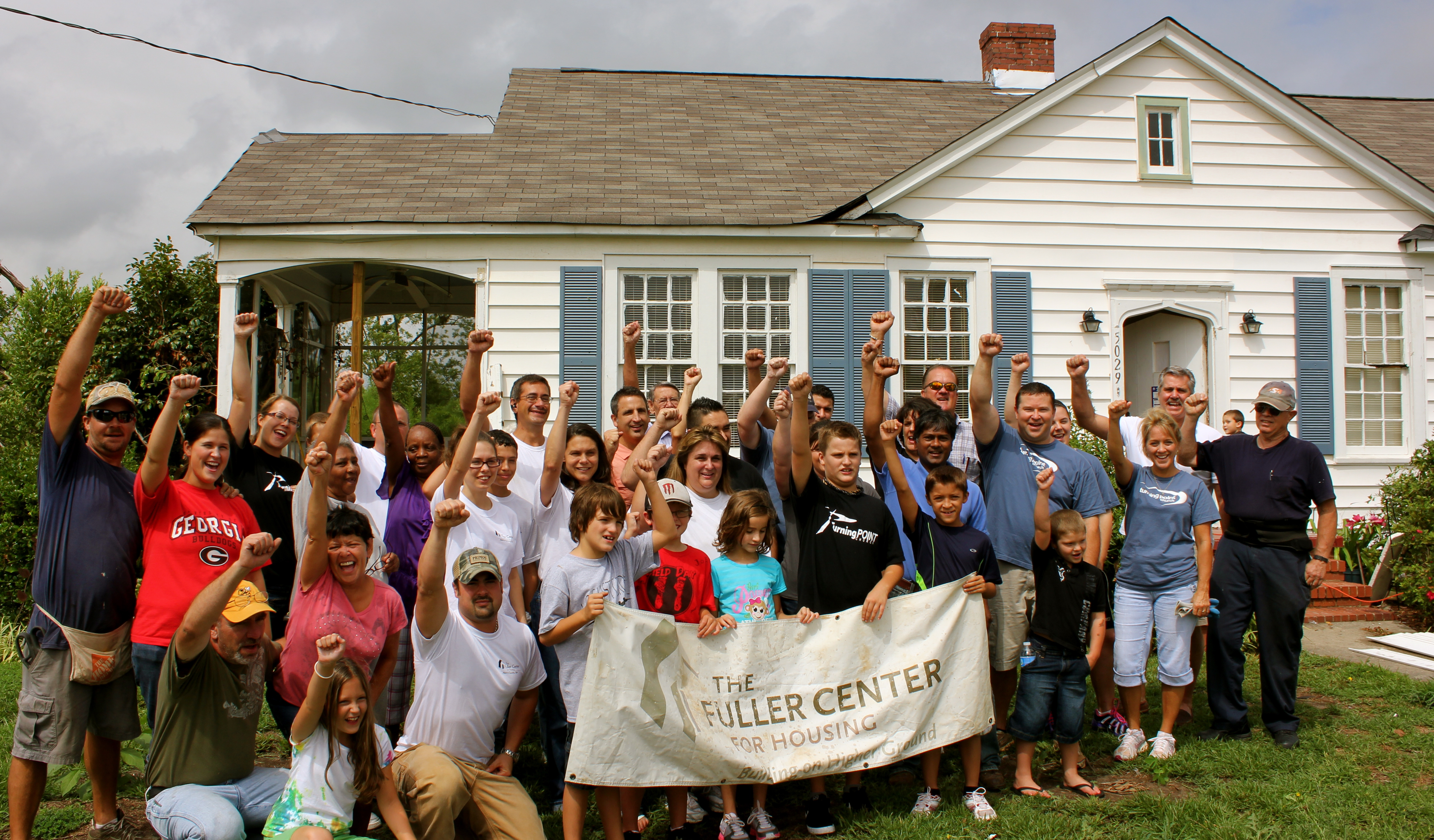 Georgia's FCH-Henry County to host 2012 Millard Fuller Legacy Build