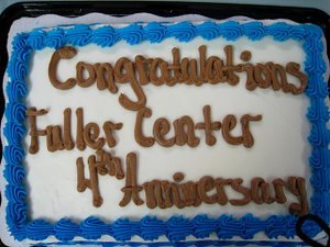 HAPPY 4th BIRTHDAY, FULLER CENTER!
