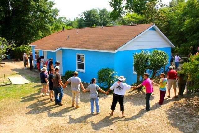The Fuller Center dedicates repaired home in Koinonia community