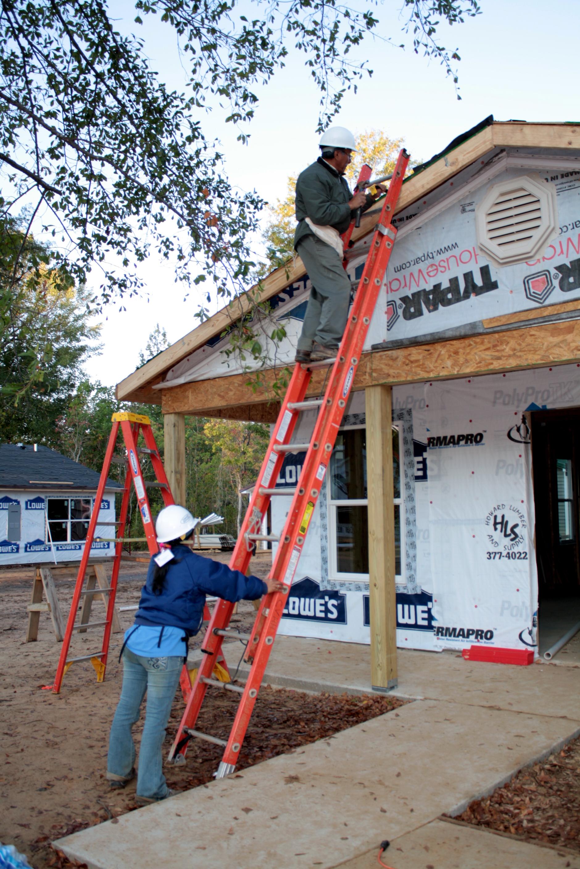 Legacy Build 2011: Volunteers from afar