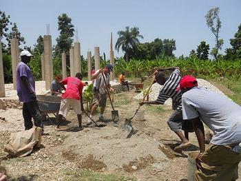 Volunteers return from Haiti: Four homes now underway