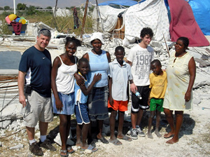 Board member visits Haiti, meets homeowners