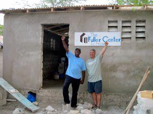 First Fuller Center homes built in Haiti