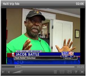 Board member returns from Haiti rebuilding trip (VIDEO)